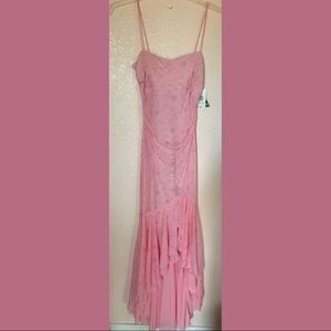New never used pink sparkly prom dress or gown